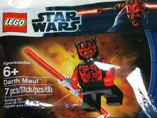 RARE lego star wars SHIRTLESS DARTH MAUL minifigure polybag SEALED exclusive