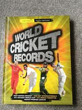WORLD CRICKET RECORDS by Chris Hawkes (Hardback, 2014)