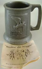 Jonathan Livingston Seagull Pewter Beer Stein Wilton Noggin Vintage 1970s Ale