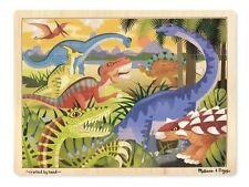 Melissa & Doug Dinosaurs Jigsaw Puzzle 24pce