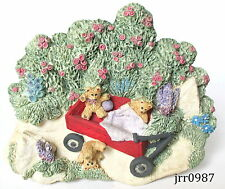 Michael's Summer Breeze Collection Beary Bouncy Ride Hanger #3139 New in box