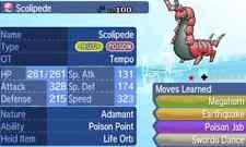 Pokemon Strategy Guide: Shiny Scolipede 6IV +Items Customization For Sun/Moon