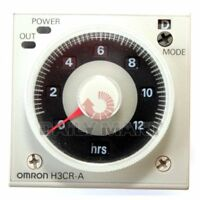 OMRON NEW H3CR-A 100-240VAC SOLID STATE MULTI FUNCTIONAL TIMER RELAY, FREE SHIP