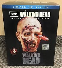 The Walking Dead Season 2 MIB Blu Ray Zombie Head Box Set figure mcfarlane toys