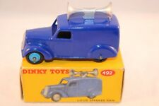 Dinky Toys 492 Loud Speaker Van near mint in box all original condition