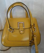 Asia BELLUCCI bag Specchio leather Handbag Shoulder bag Crossbody new yellow