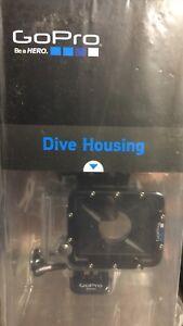 GoPro Hero2 HD2 Hero HD-2 960 1080p Underwater FLAT LENS Camera Dive Housing