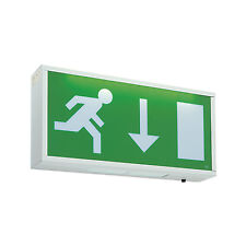 Saxby Exodus 1 05w Led Maintained Emergency Exit Box Sign 13735