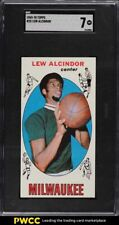 1969 Topps Basketball Lew Alcindor ROOKIE RC #25 SGC 7 NRMT