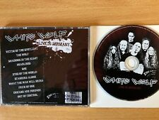 "WHITE WOLF -""Live In Germany""- Rare Advance Release Promo 2008-ESM169- NEW CD"