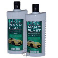 TOP Angebot - 2 x 500ml Nano Plast Kompaktpflege Autopolitur (2043W)