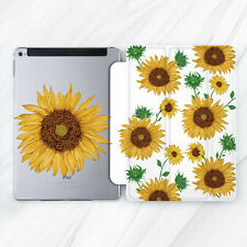 Sunflower Girly Flower Nature Case For iPad 10.2 Air 3 Pro 9.7 10.5 12.9 Mini 5