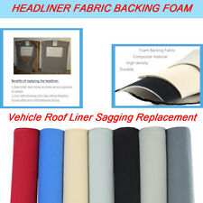 Headliner Sagging Repair Fabric Upholstery Replace 1/8