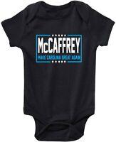 Baby Christian McCaffrey Carolina Panthers cmc ELECTION Creeper Romper