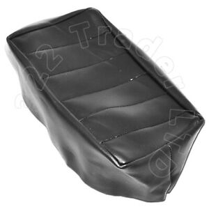 RALEIGH CHOPPER HBR SISSY PAD COVER - REPRODUCTION SEAT COVER BLACK PVC LEATHER