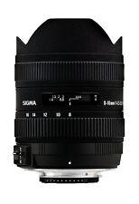 Sigma 8-16mm f/4.5-5.6 DC HSM FLD AF Lens for Canon DSLR. U.S Authorized Dealer