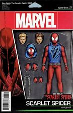 Ben Reilly Scarlet Spider #1 Christopher Action Figure Cover