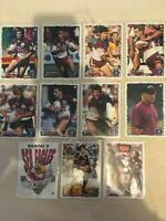 1995 DYNAMIC Rugby League Series 2 Manly Sea Eagles Full Base Team Set 11 Cards