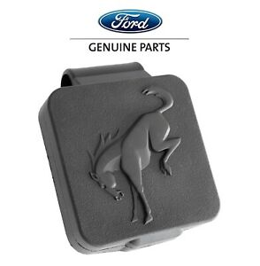"""2021 Ford Bronco OEM VM2DZ-17F000-C Rubber Tow Hitch Plug Cover for 2"""" Receiver"""