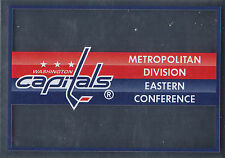 16/17 PANINI NHL STICKER TEAM LOGO #222 WASHINGTON CAPITALS *24863