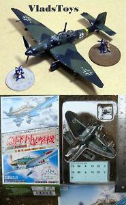 CafeReo 1:144 Dive Bomber German Junkers Stuka Ju87 D-5 III./StG2 WWII (2A)
