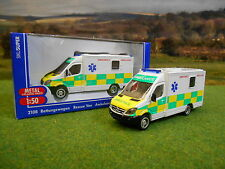 SIKU MERCEDES SPRINTER AMBULANCE 1/50 2108 SPECIAL UK EDITION *NEW & BOXED*