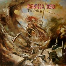 MANILLA ROAD - THE DELUGE (ULTRA CLEAR VINLY)   VINYL LP NEW!