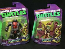 TNMT Teenage Mutant Ninja Turtles Newtralizer and Kirby Bat Figures