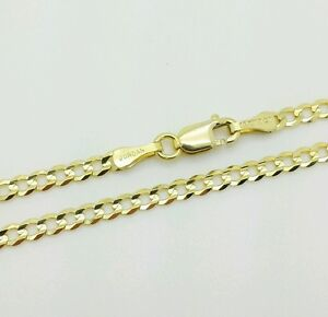 """14k Solid Yellow Gold High Polish Cuban Curb Chain Anklet 10"""""""