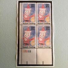 US Stamps SC# 2108 Santa Claus PB MNH 20c stamps 1984