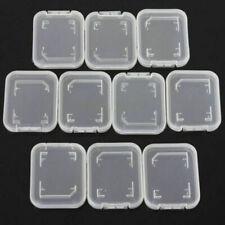 10pcs Plastic Memory Cards Card Box Case SD SDHC XD MMC CF storage Case