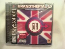 Grand Theft Auto -- Mission Pack #1: London 1969 (Sony PS1,1999) FACTORY SEALED!