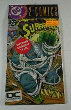 DC Universe Logo Variant Superman Man of Steel #18 5th Print JLA #69 3rd Print