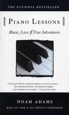 Piano Lessons: Music, Love, and True Adventures, Adams, Noah, Good Book