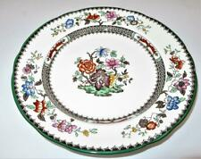 """Copeland Spode CHINESE ROSE 629599 Green Trim Floral, Dinner Plate, 10 3/8"""""""