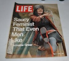 LIFE Magazine May 7 1971 Germaine Greer Cover