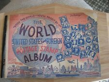 1942 The World United States and Foreign Postage Stamp Album