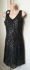 Bnwt (£35) Size 8 Sequin Dress Formal Vintage1920s Style/ Flapper/Deco (2020)