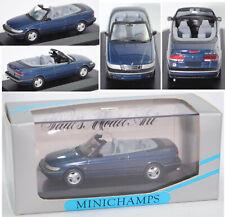 Minichamps 430170531 Saab 900 II SE Cabriolet (Typ NG) le-mans-blau metall. 1:43