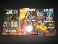 3 James Axler Death Lands PB Books Salvation Road Judas Strike Shadow World 1