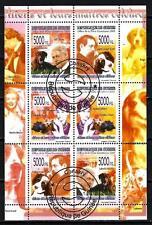 Chiens Guinée (34) série complète de 6 timbres oblitérés