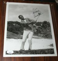 Arnold Palmer - Golf - Signed 8x10 Photo w/ JSA Authentication Label and COA
