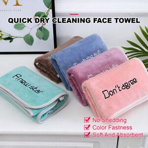 Microfiber Quick Dry Face Washer Towel Hair Dryer Bath Shower Hat 35 x 75cm