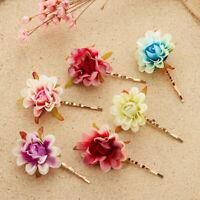 Rose Flower Hair Clip Wedding Bridal Bohemia Beach Hair Pins Head-wear Hot Sale