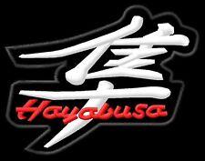 Suzuki Hayabusa GSX1300R GSXR toppa ricamata termoadesivo iron-on patch Aufnäher