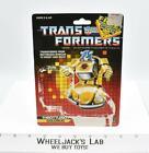 Goldbug Cardback 1986 Vintage Hasbro G1 Transformers Action Figure