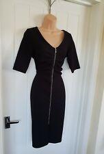 Wallis Black Office Work Dress Size 10