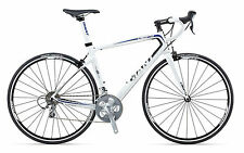 2013 Giant Defy Comp 3 Mens Small White/Black/Blue Road Bike