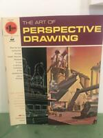 Grumbacher Vtg Art of Perspective Drawing 1968 How To Instruction Book 40005 Exc