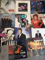 10 Pop 80s/90s Vinyl Albums & 12 Lps Kylie Yazz ABC Heaven 17